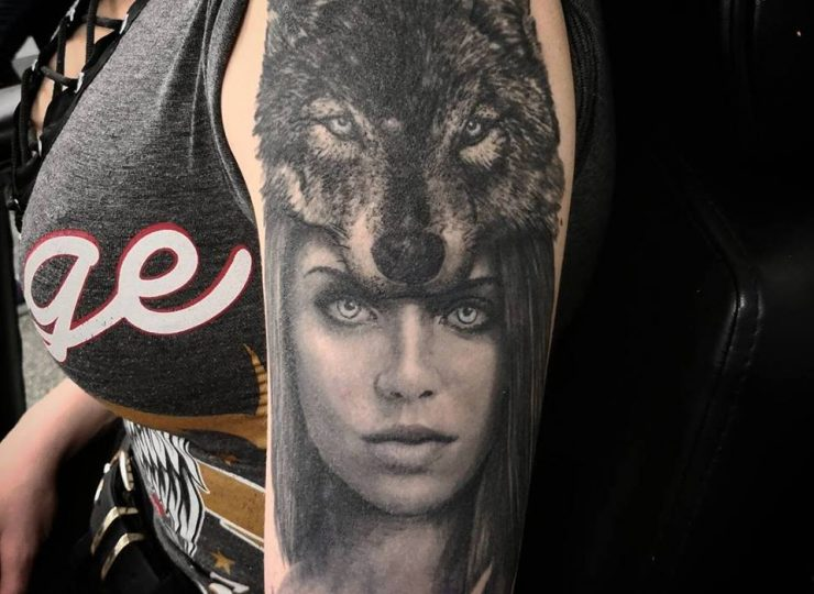 portsmouth-ink-tattoo-studio-etgar-woman-wolf2