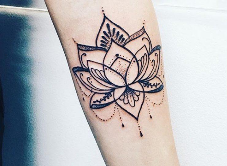 Linework Flower